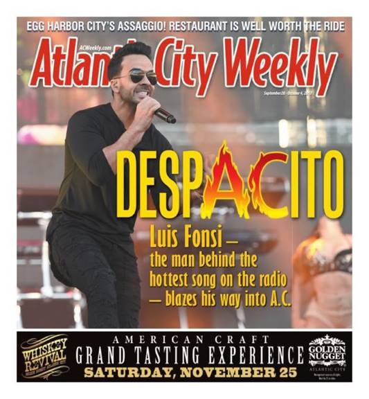 Atlantic City Weekly – Print Cover