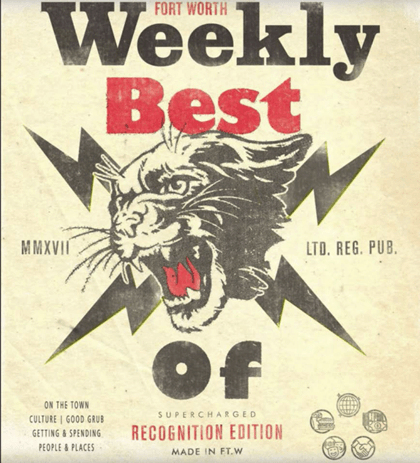 Fort Worth Weekly – Print Cover