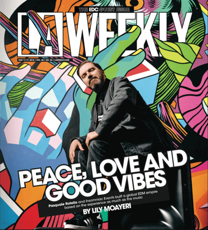 LA Weekly – Print Cover