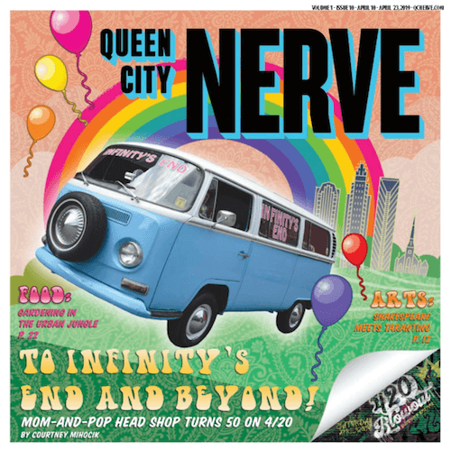 Charlotte Queen City Nerve – Print Cover