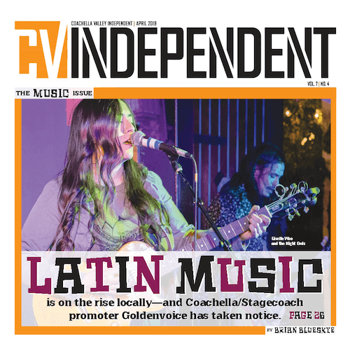 Coachella Valley Independent – Print Cover